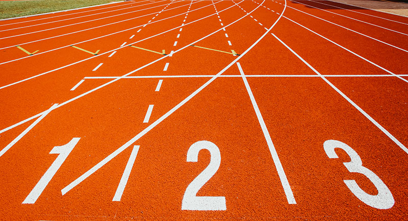 SEO for small businesses is like running a race
